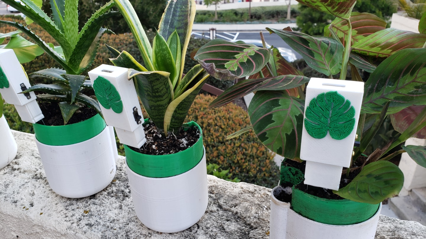 How To Build In-Plants, A Mesh-Connected Soil Monitoring System