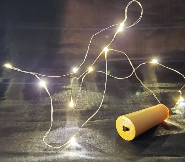 DIY LED Cork Lights