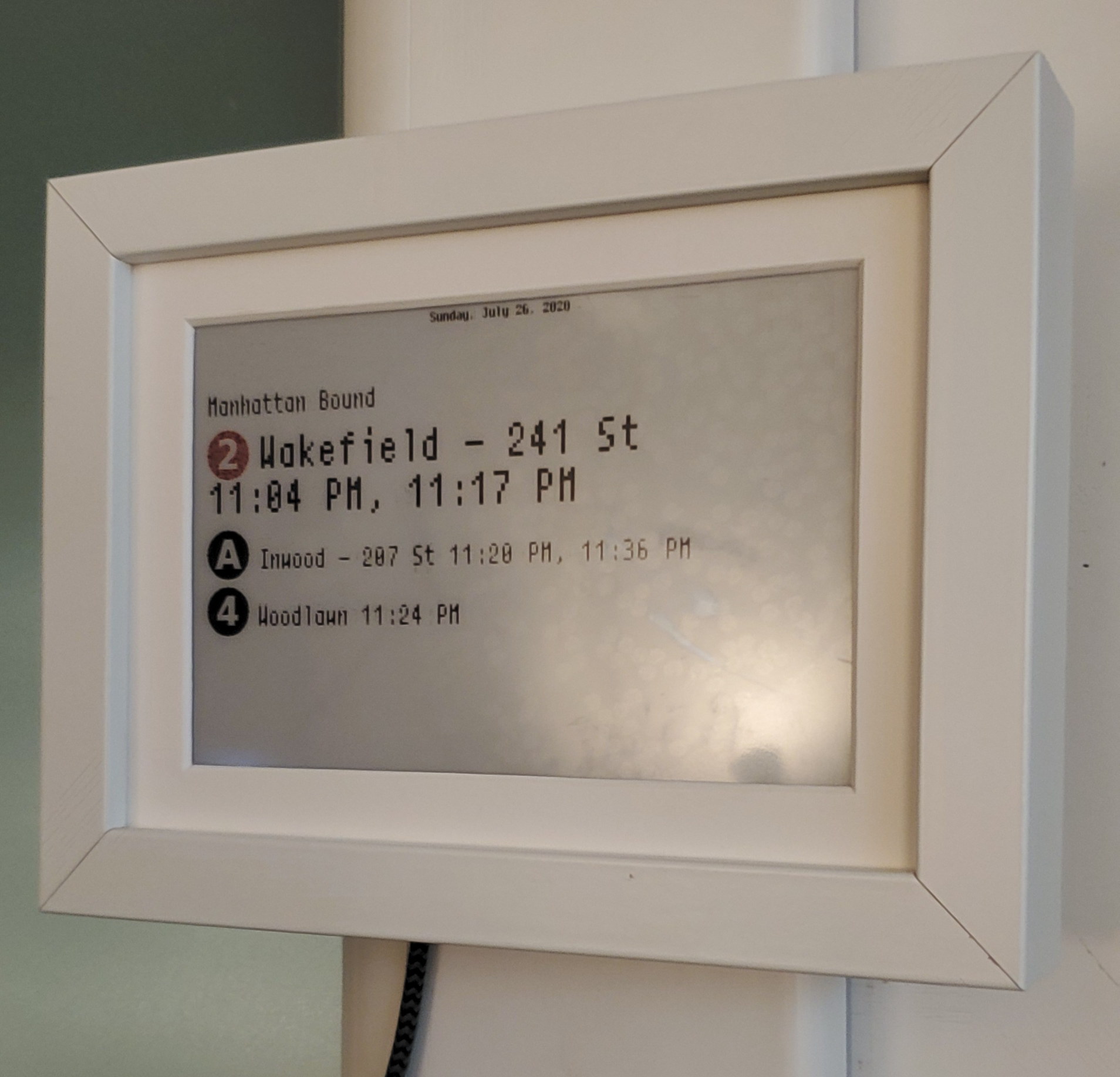 Eink Mirror Upgrades
